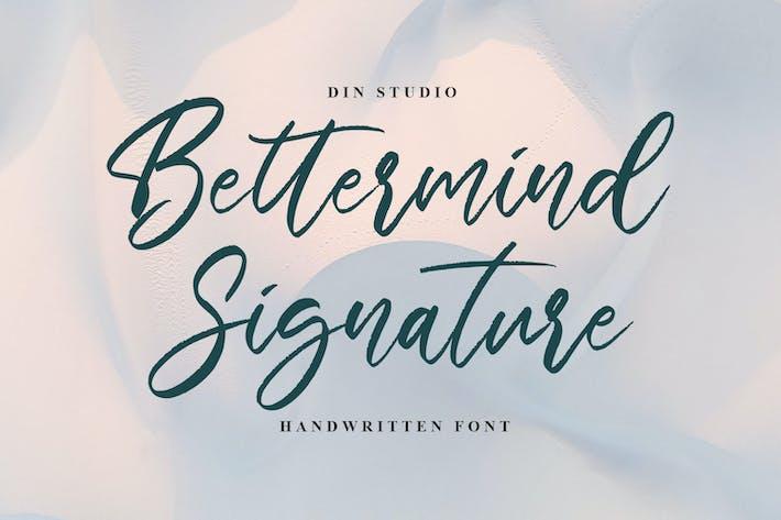 Подпись Беттерминида