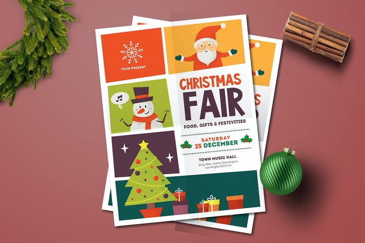 Thumbnail for Christmas Fair Flyer
