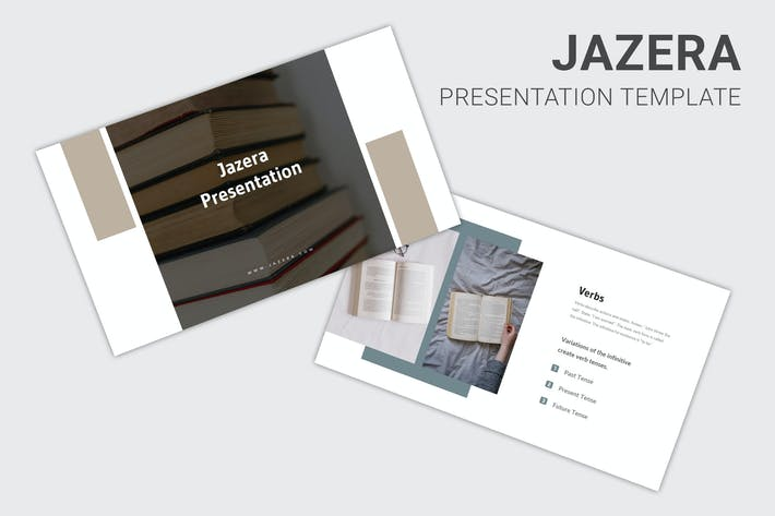 Thumbnail for Jazera - Education About Grammar Keynote