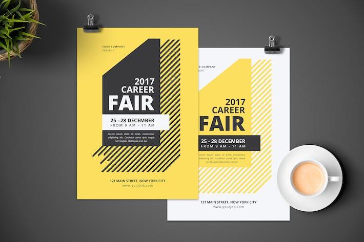 Career Fair Flyer by tokosatsu on Envato