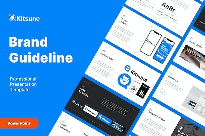 Thumbnail for KITSUNE - Brand Guideline Powerpoint