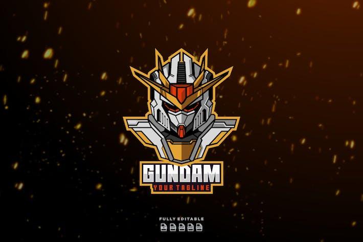 Thumbnail for Gundam Head Robot  Logo