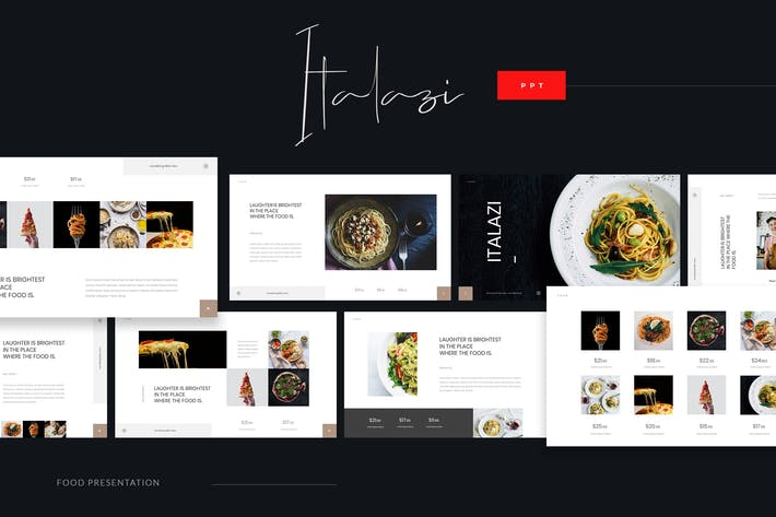 Thumbnail for Italazi - Italian Food Powerpoint Template