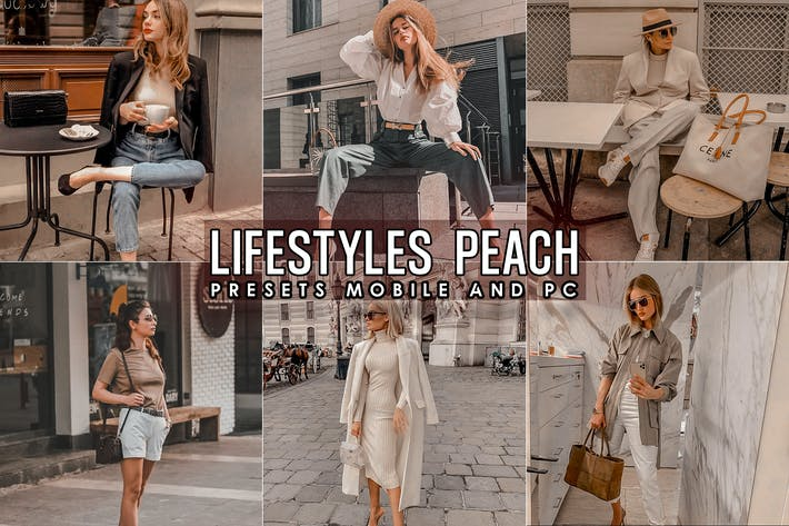 Thumbnail for Lifestyles Peach Look Lightroom Presets