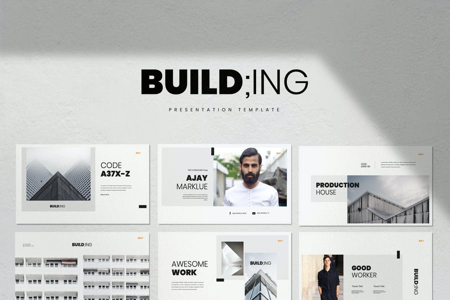 Building - Business Marketing Powerpoint