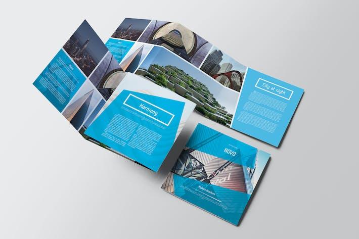 Thumbnail for Novo Square Trifold Brochure