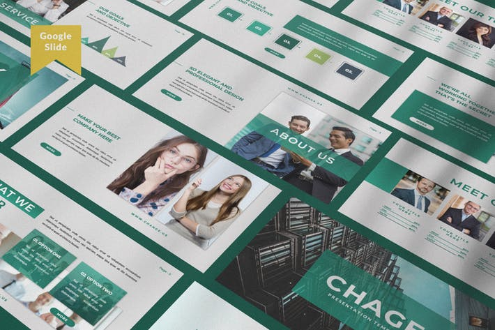Thumbnail for Change Business Google Slide Template