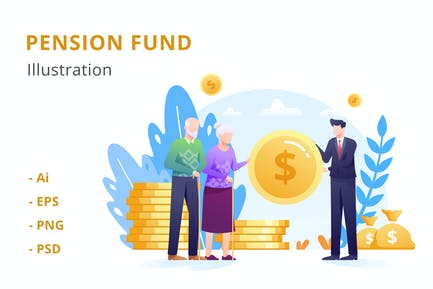 Pension Fund Illustration