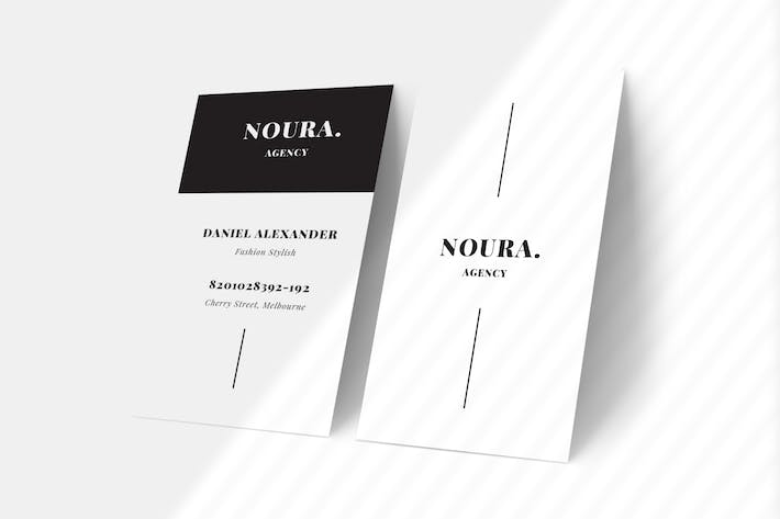 Thumbnail for Noura Business Card