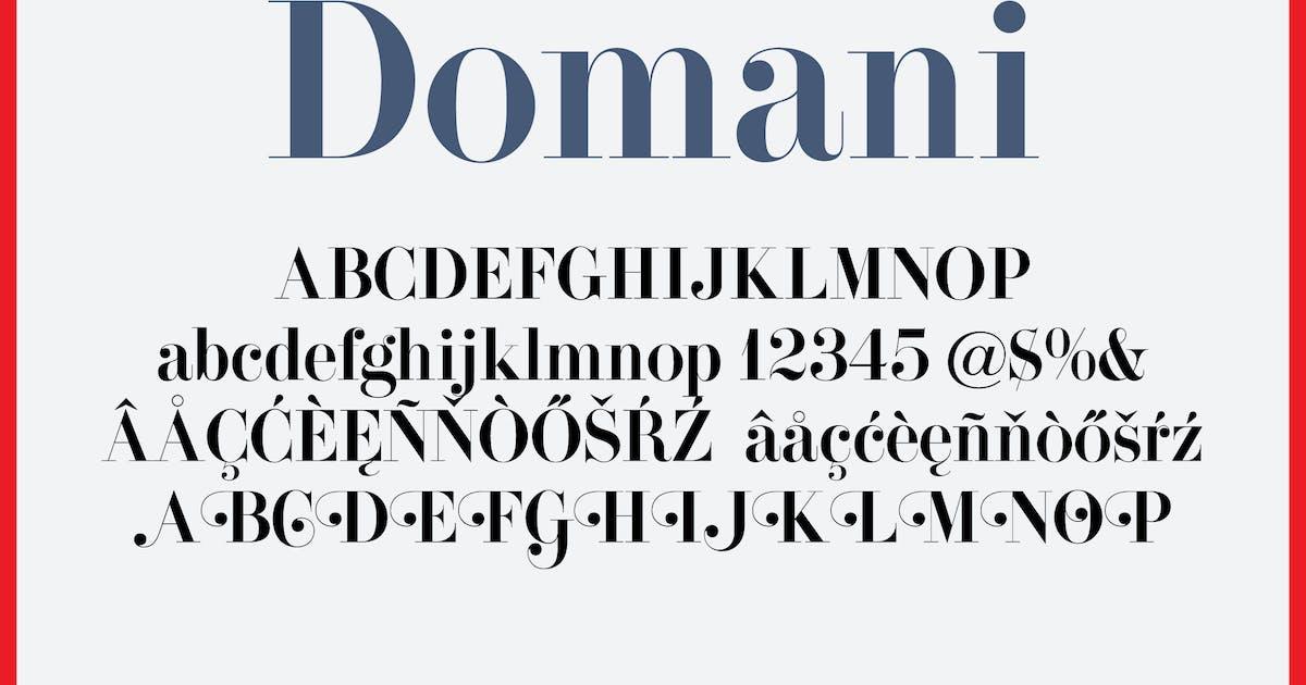 Download Domani by WalcottFonts