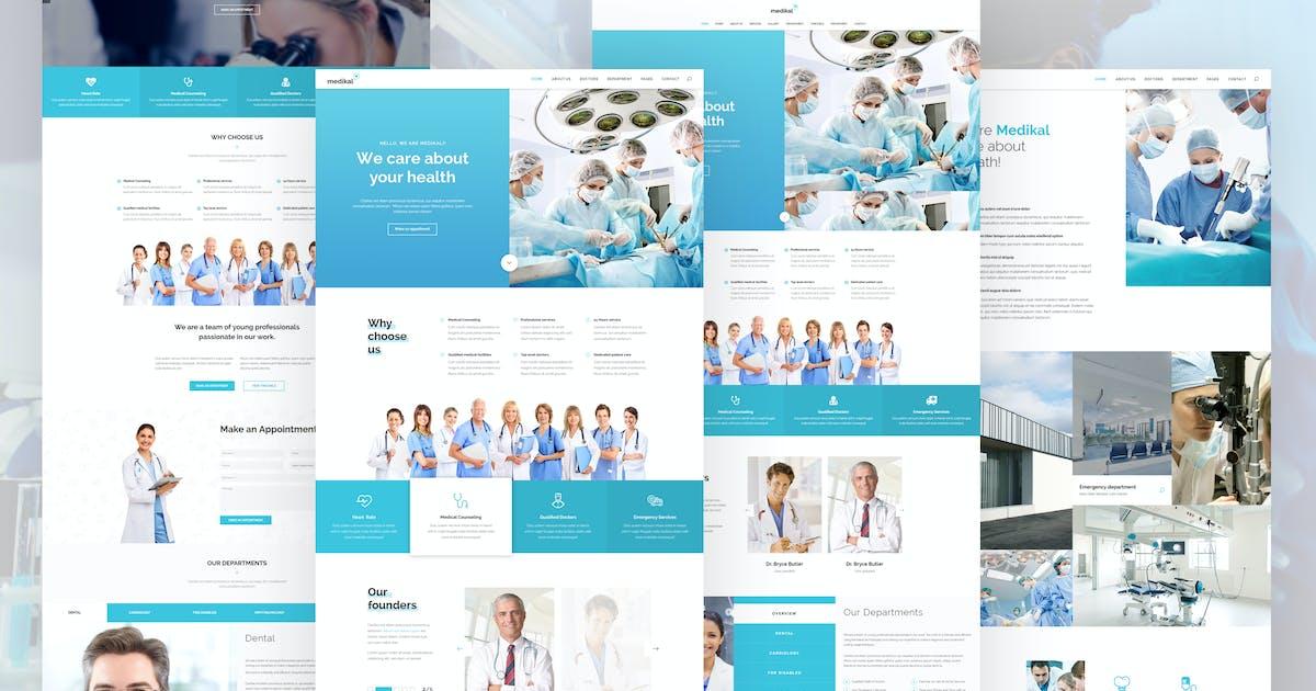 Medikal - Health Care & Medical HTML5 Template by M_Adnan