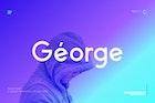 George Sans Geometric Typeface