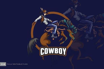 Cowboy Logo Templates