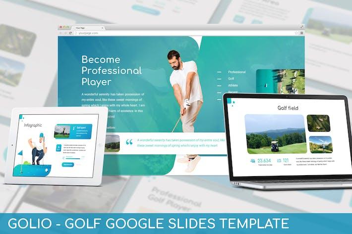 Thumbnail for Golio - Гольф Google Слайды Шаблон
