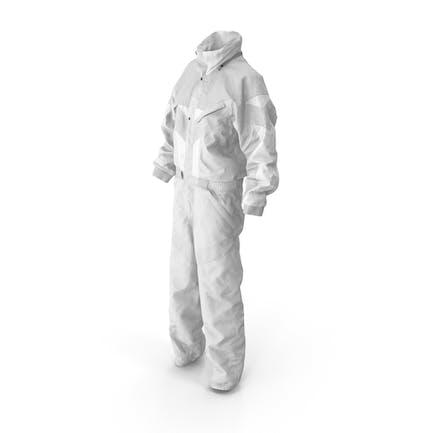 Mono Deporte Invierno Mujer Blanco