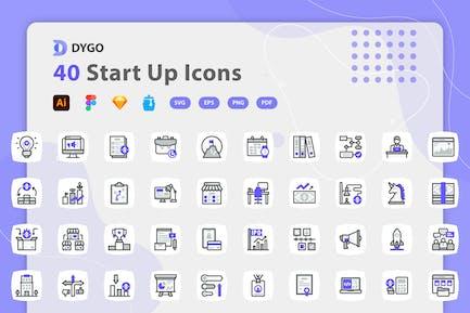 Dygo - Start Up Icons