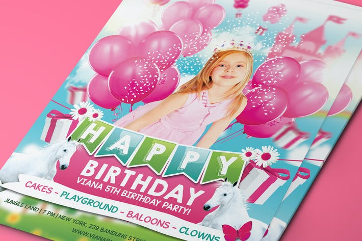 Thumbnail for Princess Birthday Party Invitation