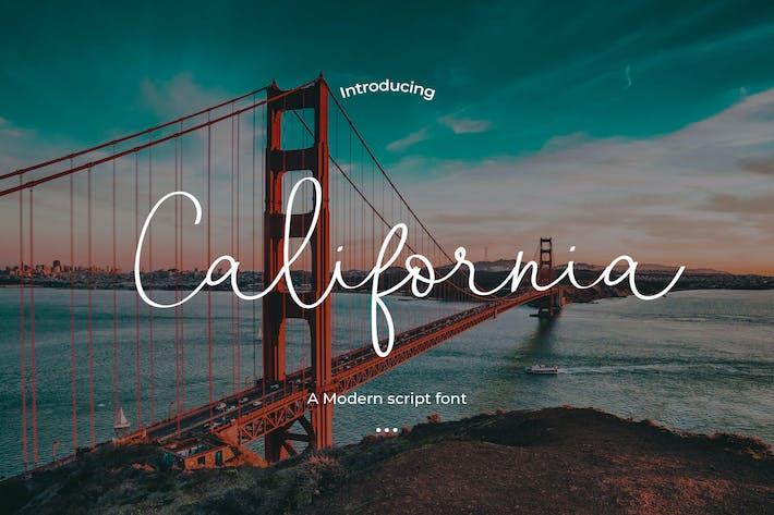 Thumbnail for California - Una fuente de escritura moderna