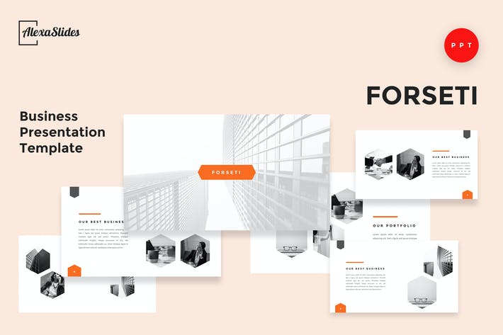 Thumbnail for Forseti - Business Powerpoint Template