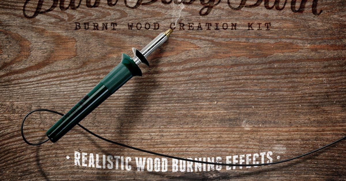 Download Burn Baby Burn Woodburning FX Kit by DesignPanoply