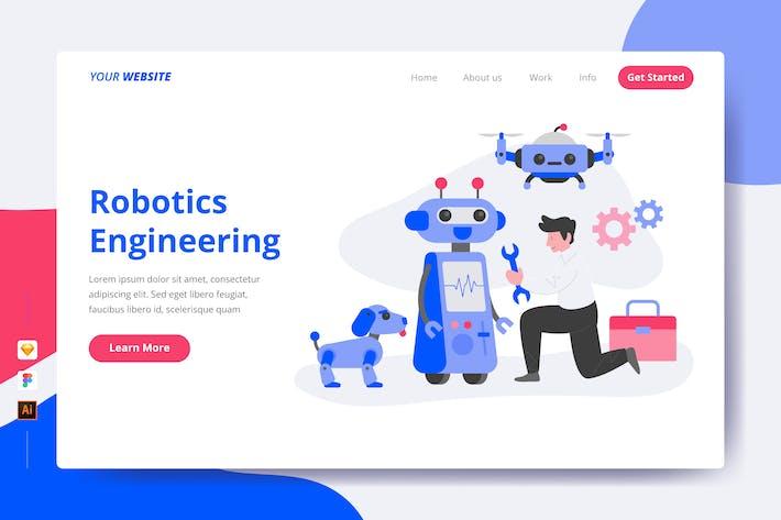 Robotics Engineering - Landing Page
