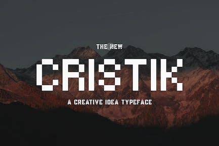 Cristik | Un type créatif