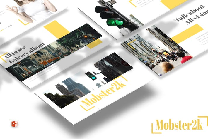 Thumbnail for Mobster - Powerpoint Template