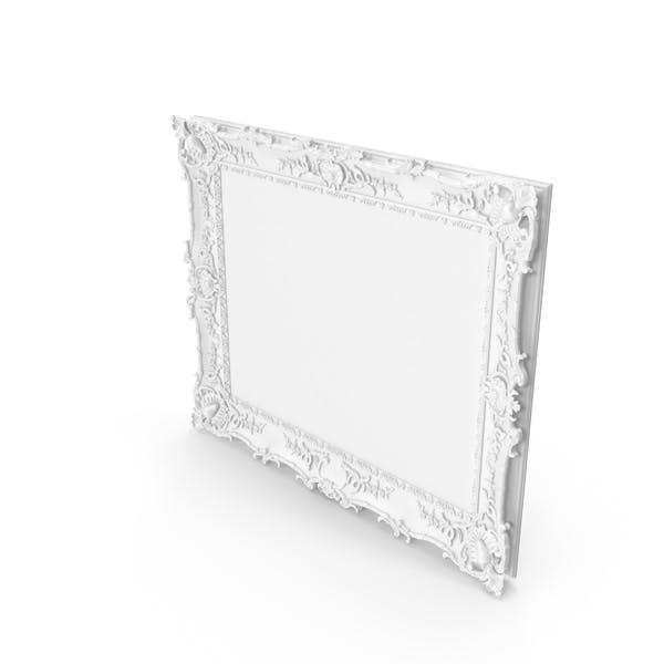 Thumbnail for Белый барокко Картинная рамка