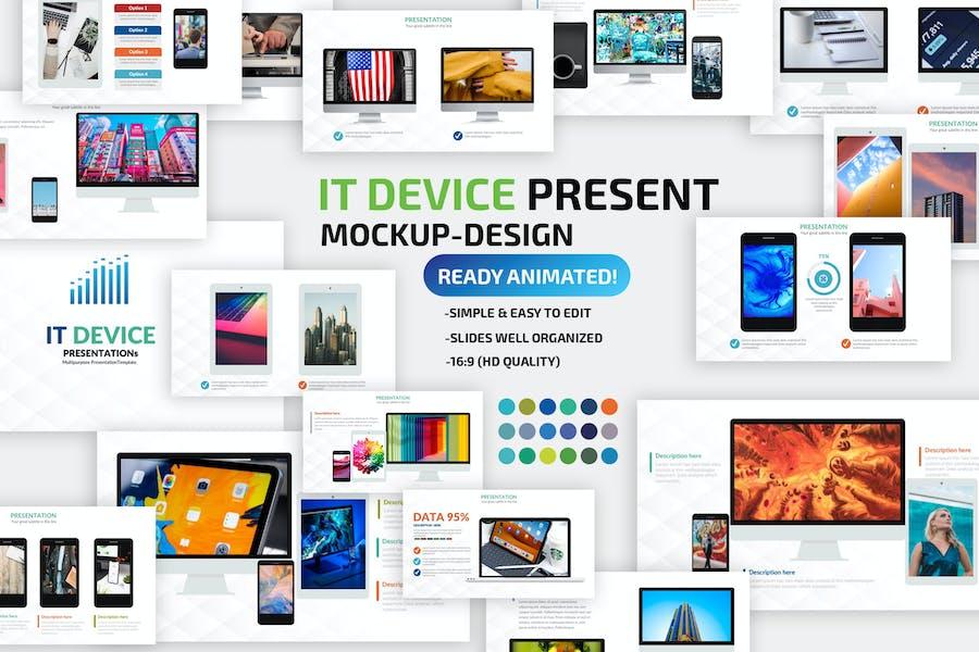IT Device Powerpoint Presentation