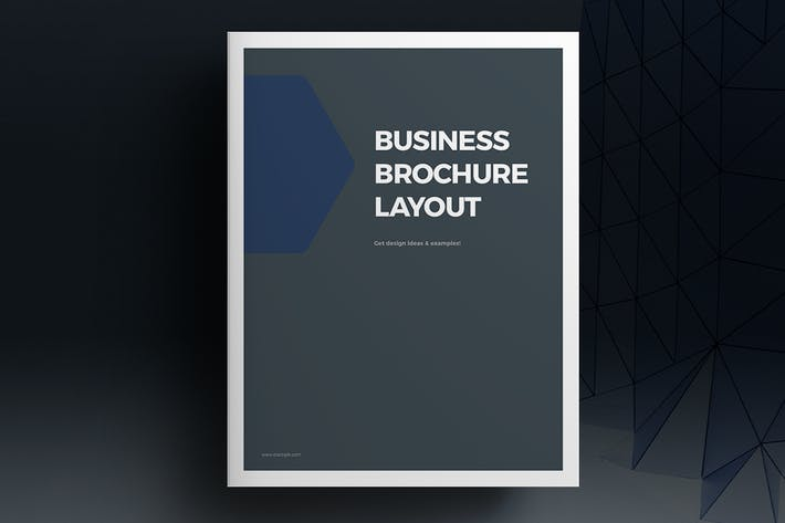Thumbnail for Blue Brochure Template