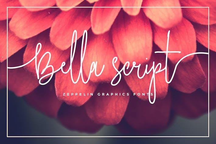 Thumbnail for Bella Script Font