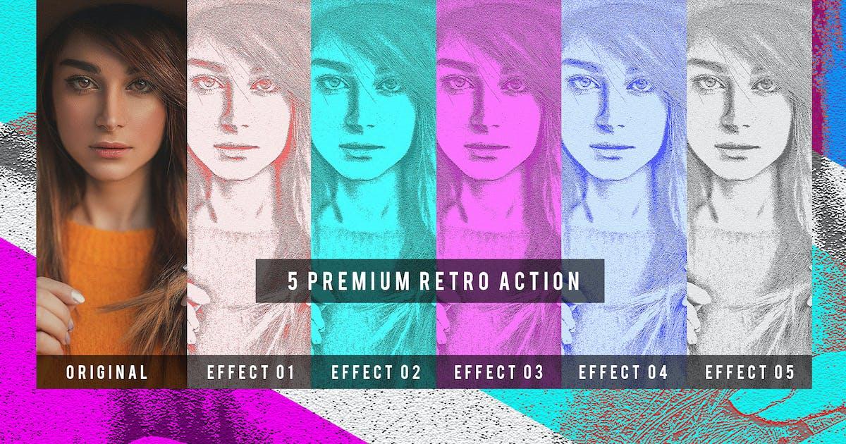 Download 5 Premium Retro Action by Voltury