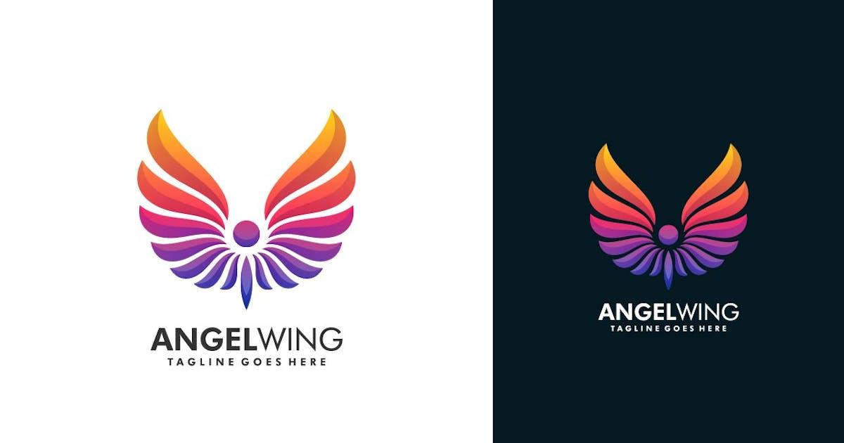 Download Simple Wing Color Logo Template by ivan_artnivora