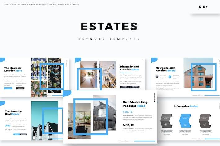 Thumbnail for Estates - Keynote Template