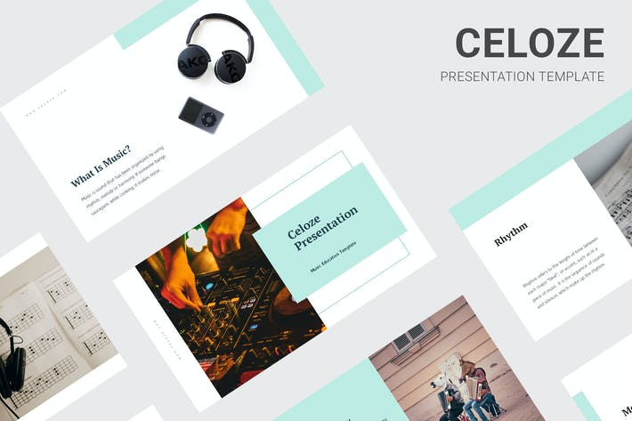 Thumbnail for Celoze - Learning About Music Keynote