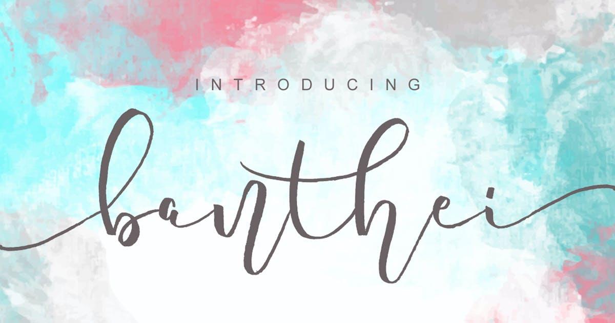 Banthei Laju Handwritten by MissinkLabStudio