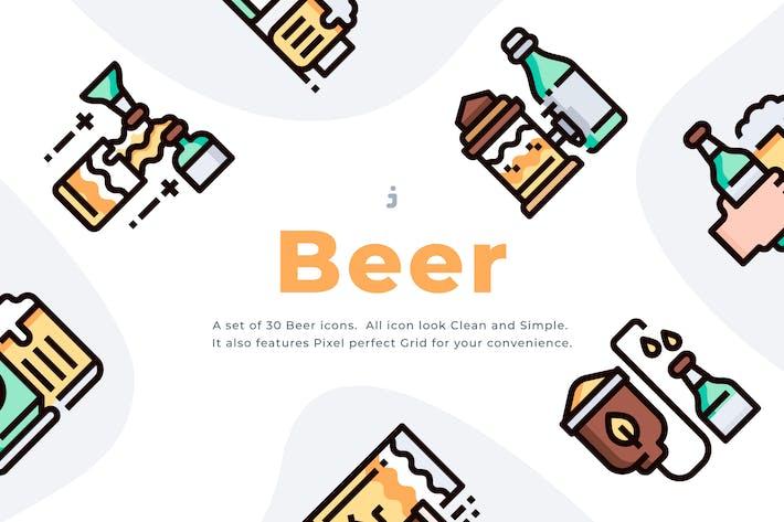Thumbnail for Kit de 30 Icon de Cerveza