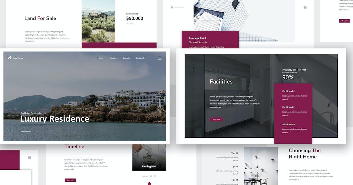 Download Real Estate Keynote Presentation by giantdesign