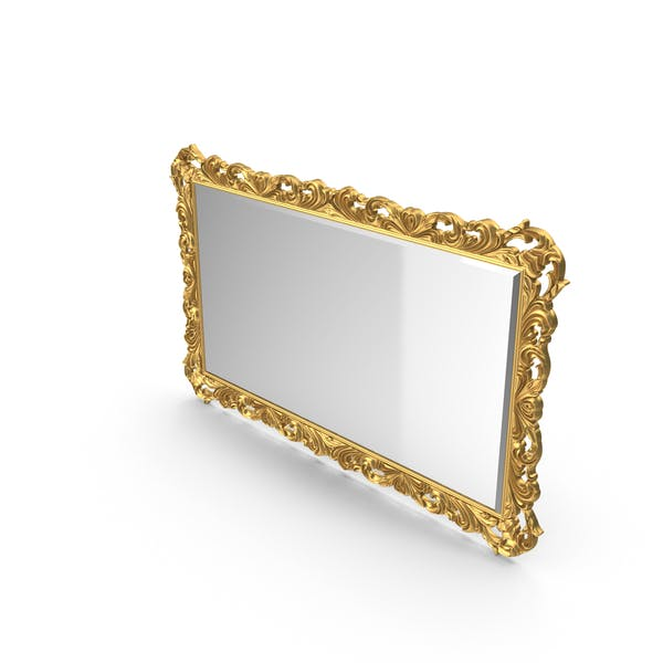 Thumbnail for Baroque Carved Frame Wall Mirror