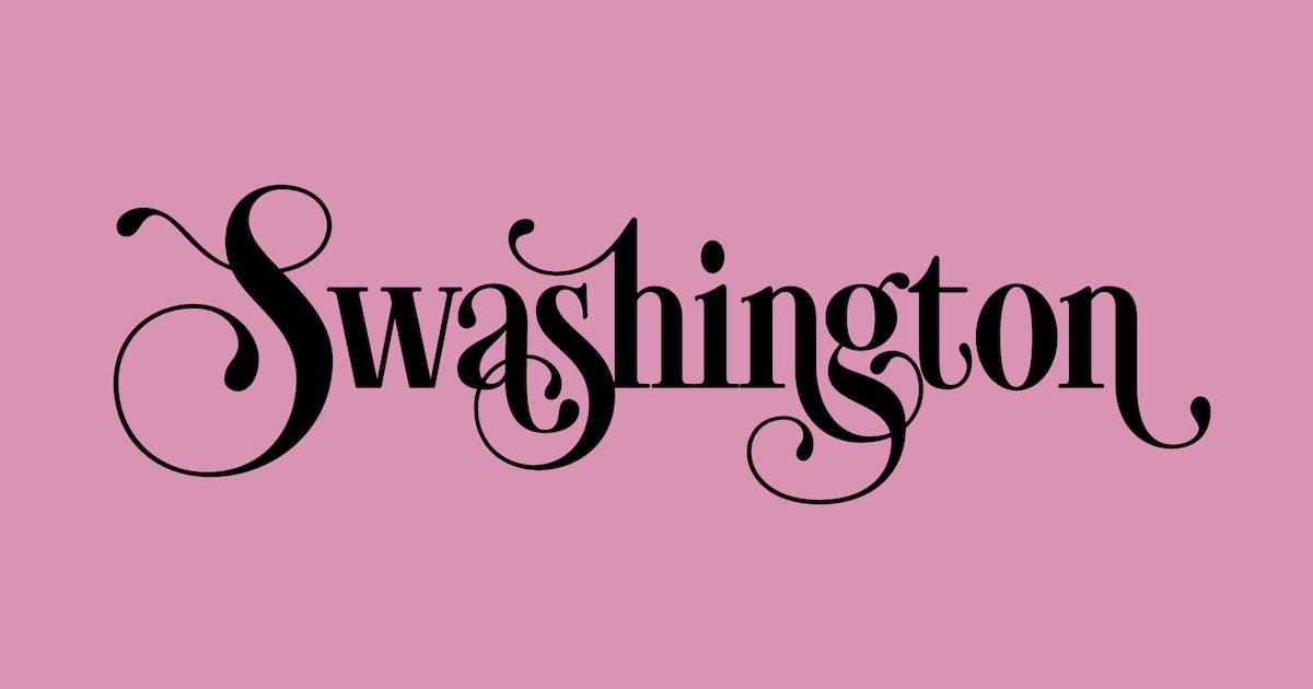 Download Swashington by WalcottFonts
