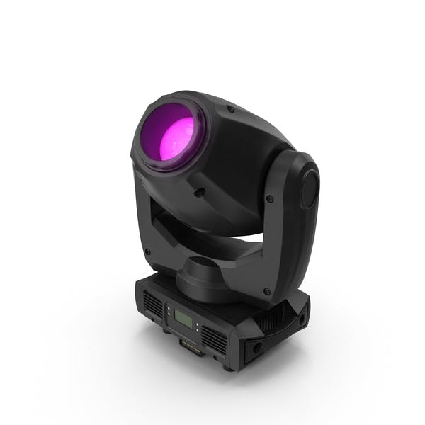 Purple Spot Stage Light