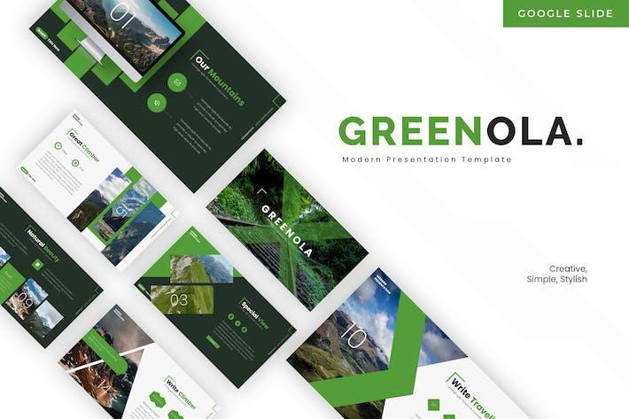 Thumbnail for Greenola - Google Slides Template
