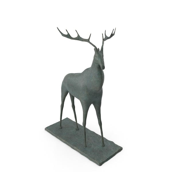 Thumbnail for Deer Sculpture