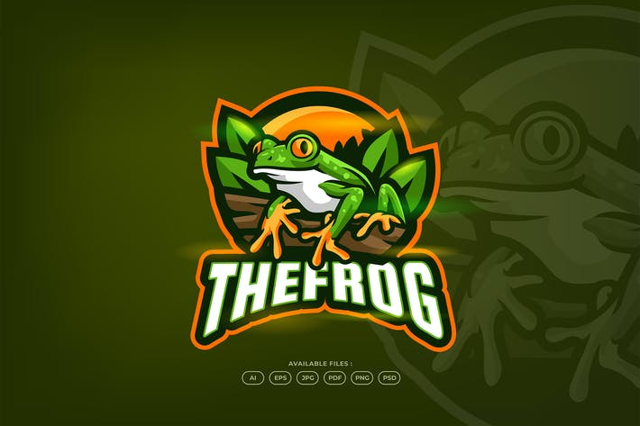 Thumbnail for Cute Forest Green Frog