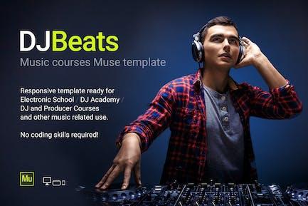 DJBeats - Музыкальные курсы DJ/Школьный Шаблон
