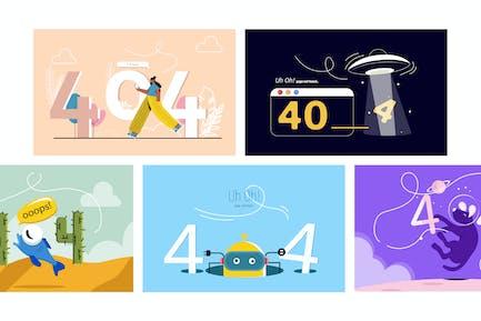 404 Different illustration