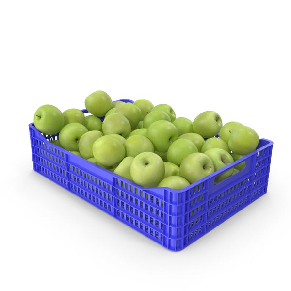 Thumbnail for Apples Granny Smith in Plastic Crate