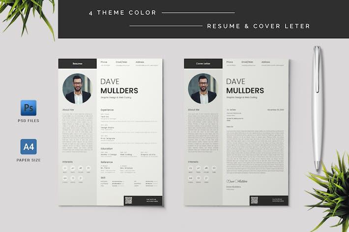 Thumbnail for Resume & Cover Letter Template