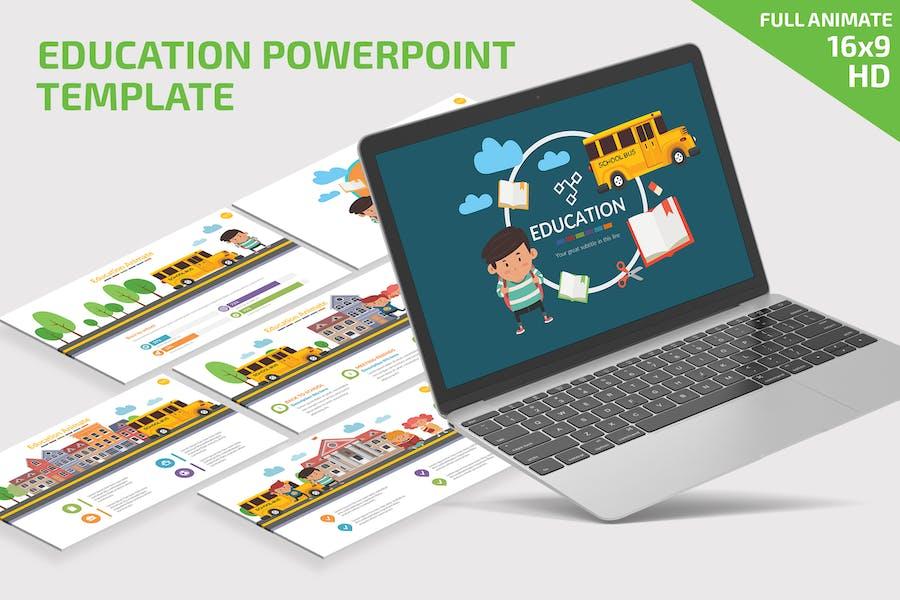 Presentación de PowerPoint de Educación