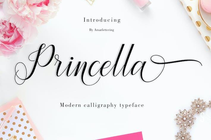 Thumbnail for Princella Script